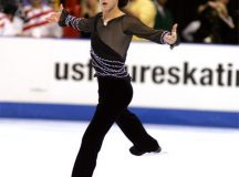 JOHNNY WEIR skates at a competition from 2007. (Photo: Paul/Michelle Harvath)